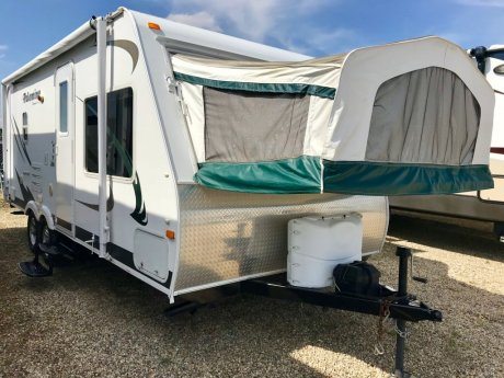 2011 Palomino S-238 Slide Out/2 Tent Ends