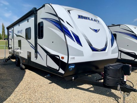 2019 Bullet 261RBSWE Outside Kitchen - Large TV!